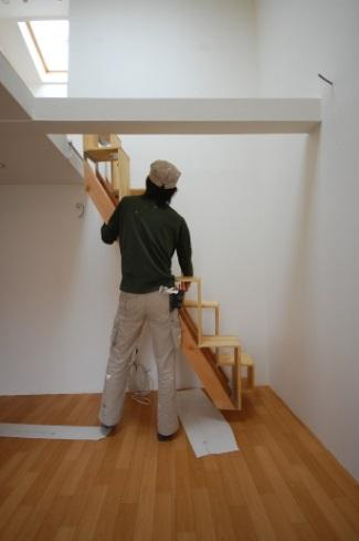 ロフトの階段互い違い階段LXP-type階段を持ち上げます