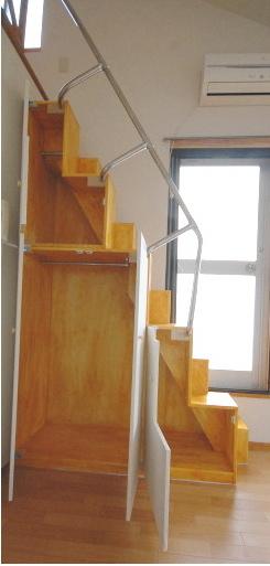 家具階段内部全景