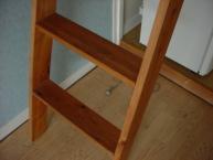 ロフトの階段 普通 上からの写真