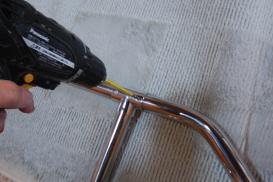 VX-Typeの取り付け方 手すりの接合