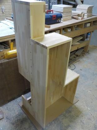 家具階段一段目から5段目