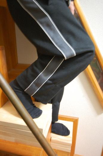 ロフトの階段