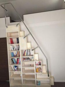 平入りの家具階段