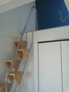 互い違い階段VX-Type アルミビーム