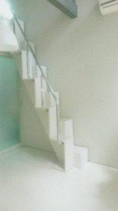 京都府K様 互い違い階段TX-Type