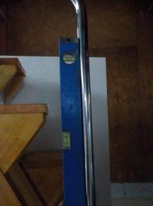 互い違い階段VX-Type デモ用見本手すりが垂直