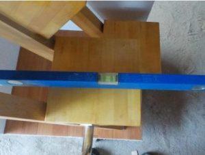 互い違い階段VX-Type デモ用見本踏面が水平
