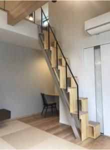 互い違い階段LX-Type 大阪府N様 階段部分