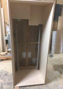 天井高2700㎜の折り畳み階段 枠